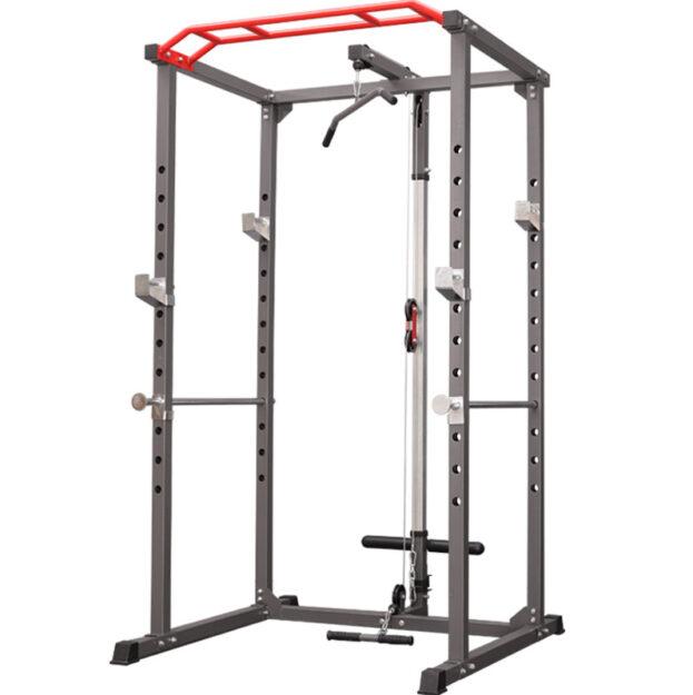 squat rack multifuncional